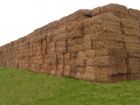 Baled Biomass