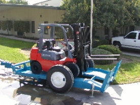 Equipment Trailer - Forklift